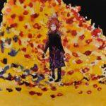 2014_no.30 田中千智「夜になって花が咲く」[Flowers Bloom in the Night]2014、120F、130.3×193.9 cm、14-170、2014TAIPEI