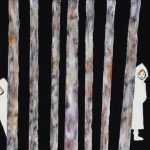 2014_no.32 田中千智「かくれんぼ」[Hide-And-Seek]2014、8M、27.3×45.5 cm、14-174、Bookuoka2014ブックオカ2014特製文庫カバー、2014Xmas
