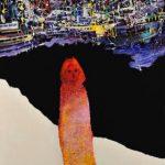 2014_no.43 田中千智「北の海」[The North Sea]2014、120F、193.9×130.3 cm、第5回福岡アジア美術トリエンナーレ2014、2015Singapore