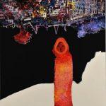 2014_no.44 田中千智「南の海」[The South Sea]2014、120F、193.9×130.3 cm、第5回福岡アジア美術トリエンナーレ2014、2015Singapore