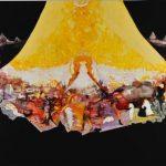 2014_no.50 田中千智「天国のような地獄」[Heavenly Hell]2014、500F、248.5×333.3 cm、2015横浜市民ギャラリー