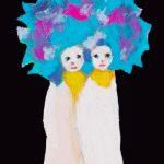 th2015_no.20 田中千智「ふたご」[Twins]2015、0弱、15.0×10.0 cm、15-075、2015画廊の夜会