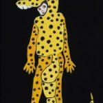th2015_no.35 田中千智「トカゲ男」[Lizard Man]2015、0弱、15.0×10.0 cm、201509ArtFairAsia@福岡