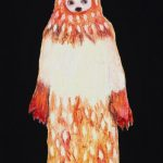 th2015_no.36 田中千智「オオカミ男」[Wolf Man]2015、0弱、15.0×10.0 cm、201509ArtFairAsia@福岡