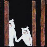 th2015_no.51 田中千智「かくれんぼB」[Hide-And-Seek B]2015、0弱、10.0×15.0cm、201509ArtFairAsia@福岡