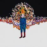 th2015_no.68 田中千智「願い事をする人」[Wish Maker]2015、15F、53.0×65.2 cm、15-233、201510個展@小林画廊